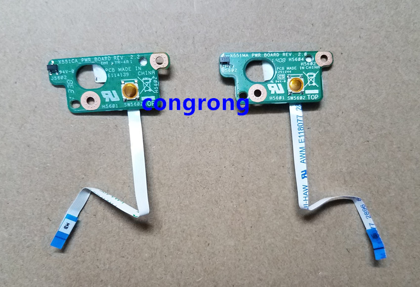 Computer & Office Jintai New For Asus X551ma 60nb0480-ps1040-200 For Power Switch On/ Off Button