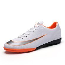 Men Football Boots High Ankle Superfly TF Soccer Shoes Futsal Turf Adult Superfly Kids Hard Court Football Shoes