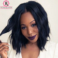 "Short Human Hair Bob Wigs 8A Full Lace Human Hair Wigs For Black Women Peruvian Lace Front Wig 8""-24"" Lace Front Human Hair Wigs"