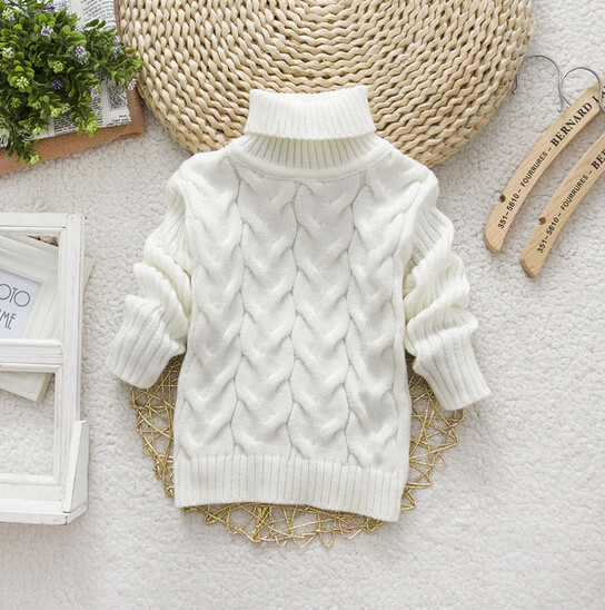 6025d48b4aa5 Stylish Kids Turtleneck Sweater - DealBola.com