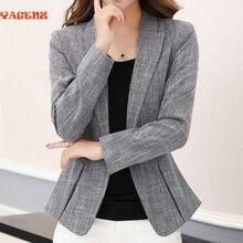 Fall New Office Suit Professional Women Fashion 2017 Korean Suit OL Temperament Slim Wild Suit Jacket Female