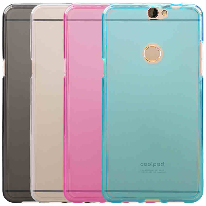 best authentic 84d76 ccc85 US $1.99 |Coolpad Max Case Cover 5.5 inch High Quality TPU Soft Phone Case  For Coolpad Max Cover 4 Colors Max Coolpad Back Cover Case-in Half-wrapped  ...