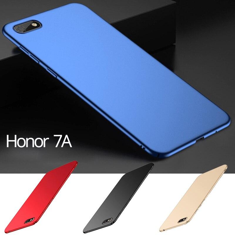 Hard PC Honor 7A DUA-L22 Case Plastic Full Cover Huawei Pro AUM-L29 Glass