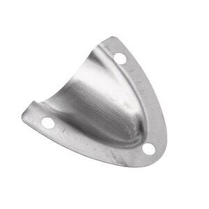 Image 5 - 4x4.5 cm marinha grau de aço inoxidável clamshell ventilação fio capa clam escudo acessórios de ventilação para barco uv e resistente às intempéries