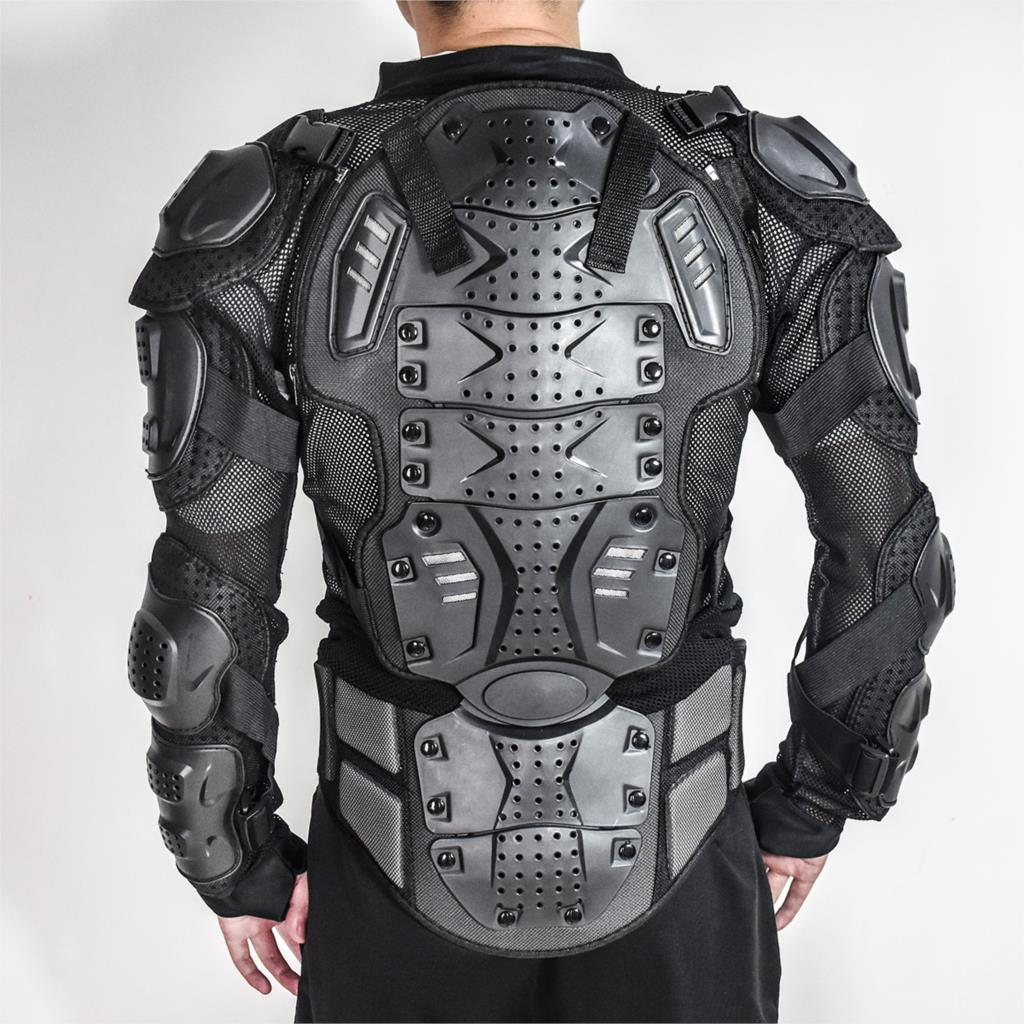 WOSAWE Sports Motorcycle Armor Protector Jacket Body Support Bandage Motocross Guard Brace Protective Gears Chest Ski Protection
