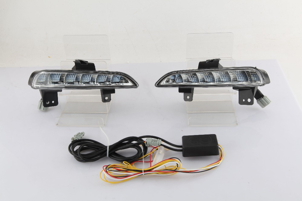 Qirun Led drl daytime running light for mazda 6 gh 2008 2009 with yellow turn signal qirun led drl daytime running light for citroen c3 xr 2015 2016 with yellow turn signal and wireless control