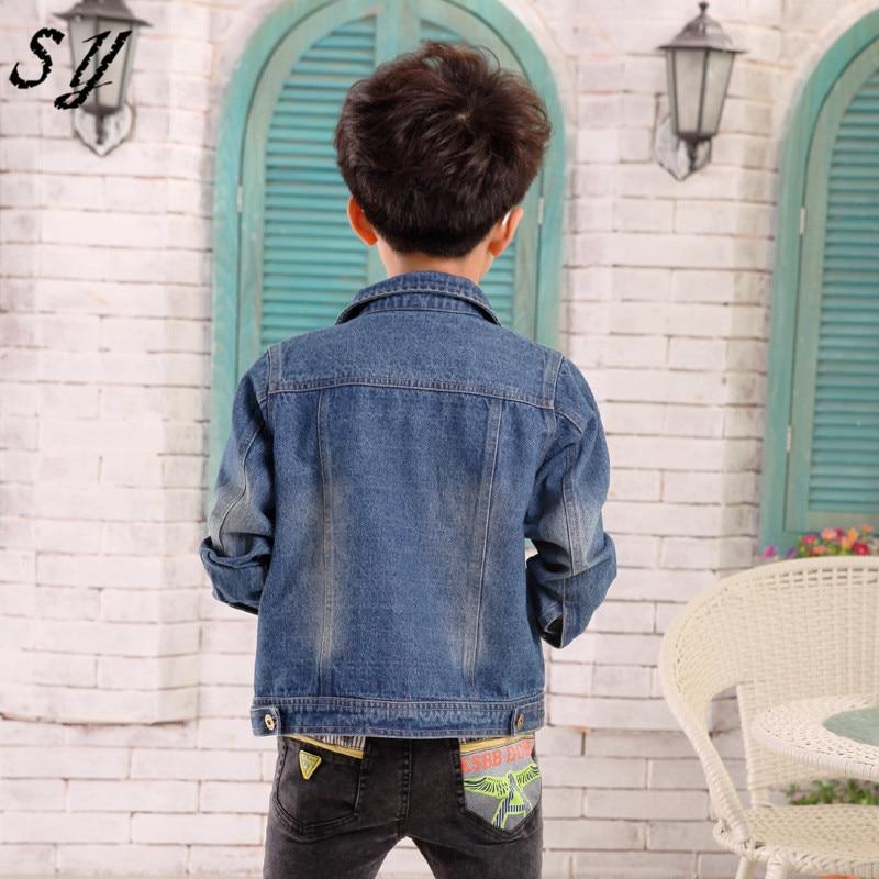 d51dcd7dc74b cool spring autumn brand denim jaket children kid boy jeans jacket cowboy  style long sleeve pocket denim boy winter outfit-in Jackets & Coats from  Mother ...