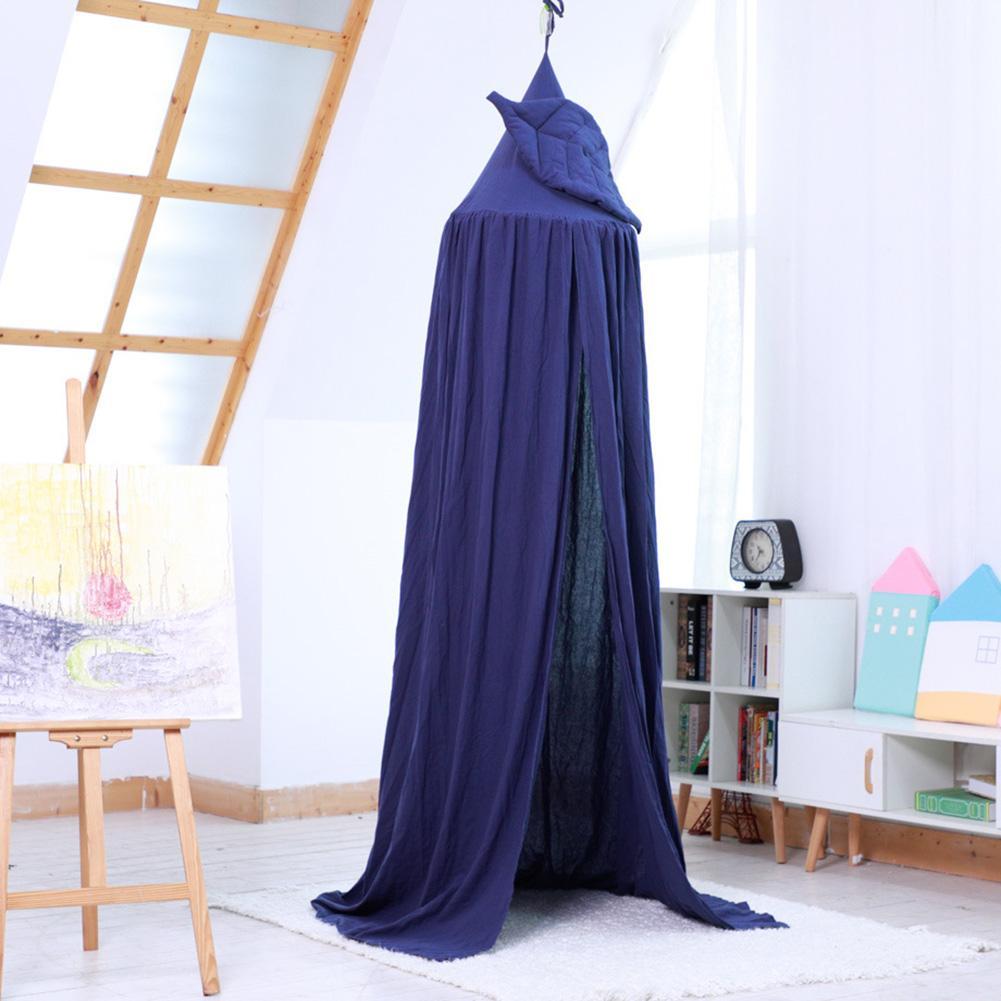 Coton enfants dôme tente moustiquaire tipi lit rideau cadeau d'anniversaire