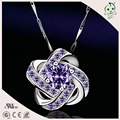 Good Quality  Lover Gifts Jewelry CZ Paving 925 Sterling Silver Star Pendant
