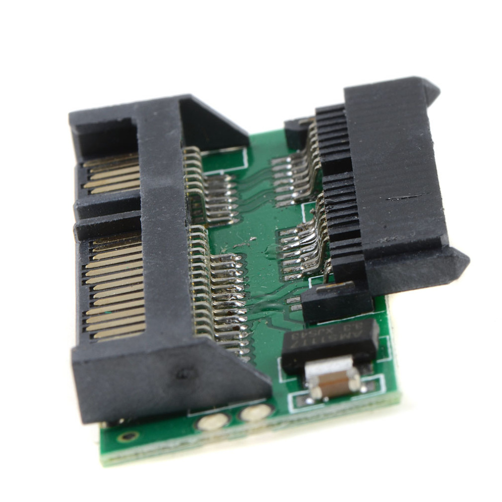 Cable Length: Other Computer Cables Pro 1.8 Micro MSATA SSD to 7+15 2.5 Inch SATA Adapter Converter Card Board