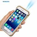 G6X Мини-Проектор Wifi Dlp Проектор Мобильный Домашний Кинотеатр кинотеатр LED Портативный Проектор для iPhone 6 Серии WVGA 854 x480