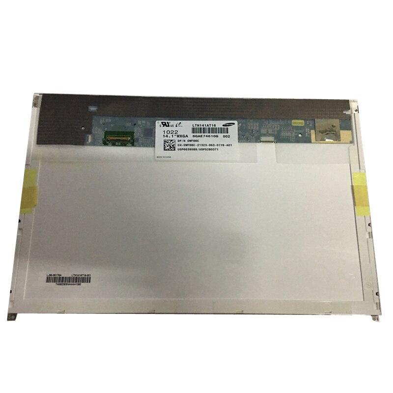 14.1 Inch Laptop Lcd Display Matrix Screen  LTN141AT16 B141EW05 V.5 LP141WX5 TPP1 N141I6-D11 For DELL E6410 Notbook EDP