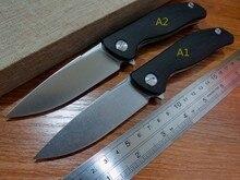 5PCS/LOT Hot sale Efeng F3 Camping Folding Knife D2 Blade G10 Handle Pocket Tactical Knife Flipper Outdoor Black Color Knives