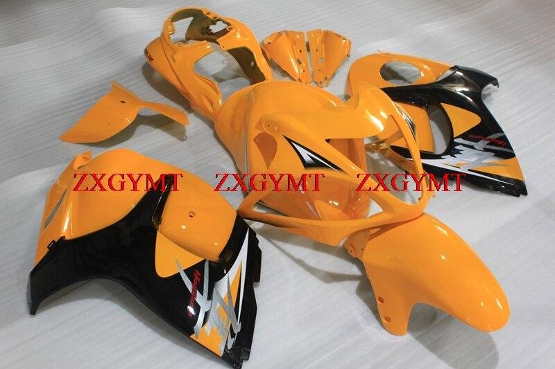Plastic Fairings for GSX-R1300 2008 - 2014 Fairings GSXR 1300 12 13 Orange Yellow Black Bodywork GSX-R1300 2012Plastic Fairings for GSX-R1300 2008 - 2014 Fairings GSXR 1300 12 13 Orange Yellow Black Bodywork GSX-R1300 2012