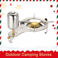 Outdoor Camping Stoves Alcohol Stove Camping 90% Liquid Alcohol Cooking Picnic Stove Burner Gasify for Outdoor Picnic Hiking