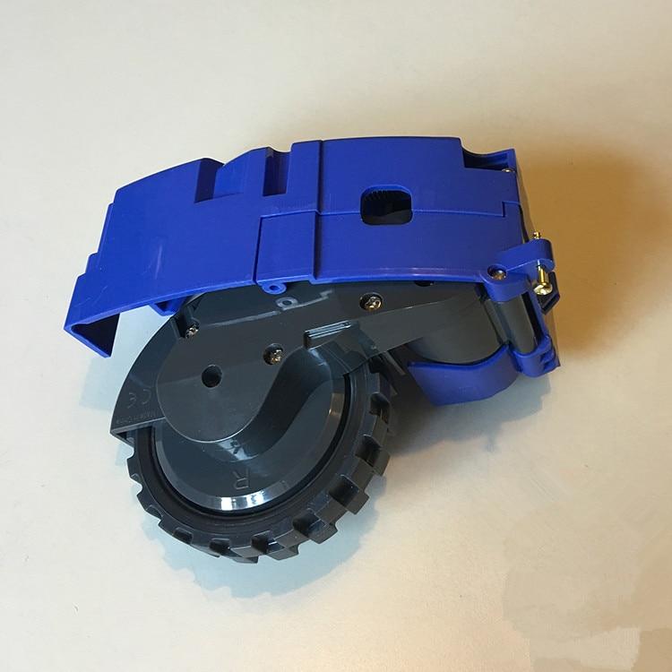 1 Robot right wheel for replacement irobot roomba 500 600 700 800 560 570 650 780 880 900 Robot parts irobot чистящий модуль для roomba 500 600 и 700 серии