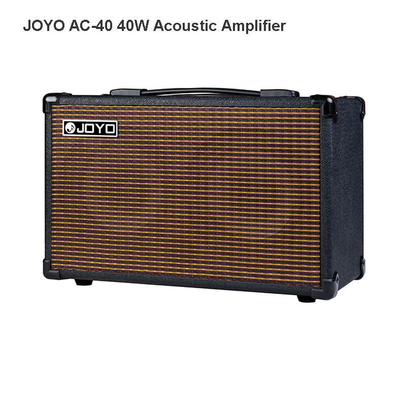 JOYO AC-40 40W Acoustic Amplifier for Guitars 3 built-in digital effects of Chorus Delay Reverb rich mid low frequencies AMP цена