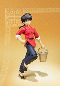 Image 2 - PrettyAngel   Genuine Bandai Tamashii Nations S.H.Figuarts Ranma 1/2 Ranma Saotome Action Figure