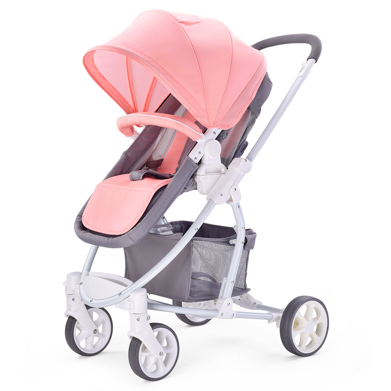 High  view stroller cart can push childrens carts in both , can sit and lay baby folding  baby stroller 3 in 1High  view stroller cart can push childrens carts in both , can sit and lay baby folding  baby stroller 3 in 1