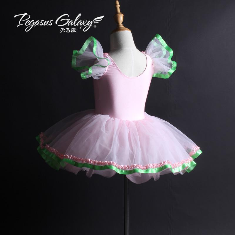3a7207651e17 Princess Girls Ballet Dress Pink Romantic Tutu Ballet Dancewaer ...