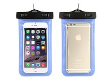 500X Waterproof PVC Swimming bag Underwater Case Cover for iPhone 7 8 plus Huawei P20 lite redmi 5 5A phone pouch bags Wholesale