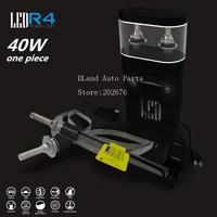DLAND R4 40W 4800LM AUTO CAR LED BULB CONVERSION LED LAMP KIT H1 H3 H7 H8 H9 H11 9012 9005 9006 880 881 H4 H13 BEST QUALITY
