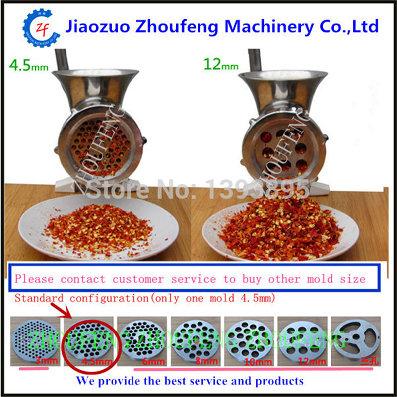 ФОТО Meat grinder stainless steel made in China 10# ZF