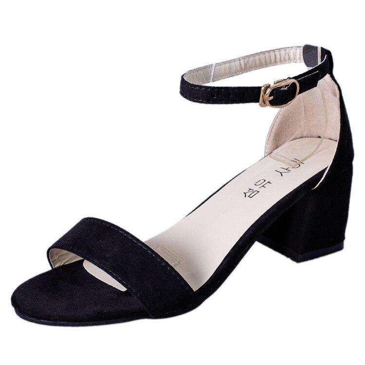 Summer Women Sandals Open Toe Flip Flops Women's Sandles Thick Heel  Korean Style Gladiator Shoes Platform Wedge Shoes