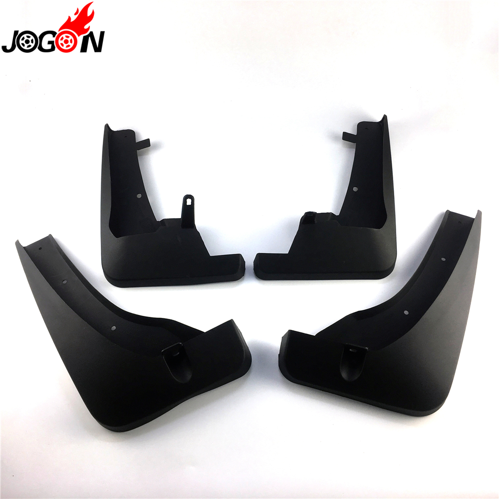 Black accessories For Infiniti QX50 P71A 2018 2019 cars front and rear dirt Fender Fenders 4