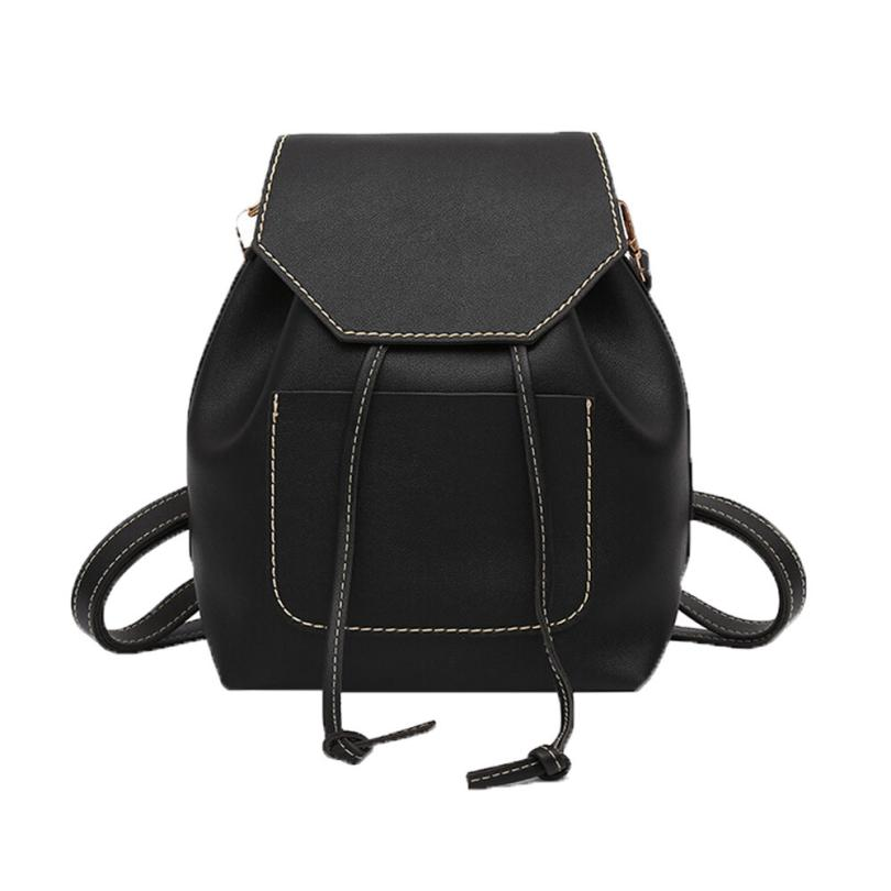 Xiniu backpacks for teenage girls leather Drawstring Bag Women Backpack Fashion Girl Student Leisure Schoolbag bolso mujer #WMES