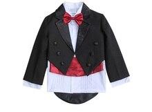 Baby Boys 5 Piece Formal Tuxedo Suit