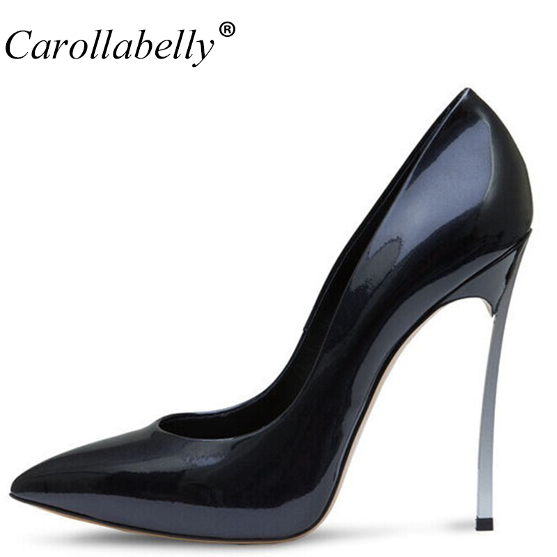 Brand Shoes Woman High Heels Women Pumps Stiletto Thin Heel Women's Shoes Nude Pointed Toe High Heels Wedding Shoes size 33-43 brand shoes woman high heels women pumps pointed toe wedding shoes 10cm metal heel women shoes high heels pumps shoes b 0113 page 9