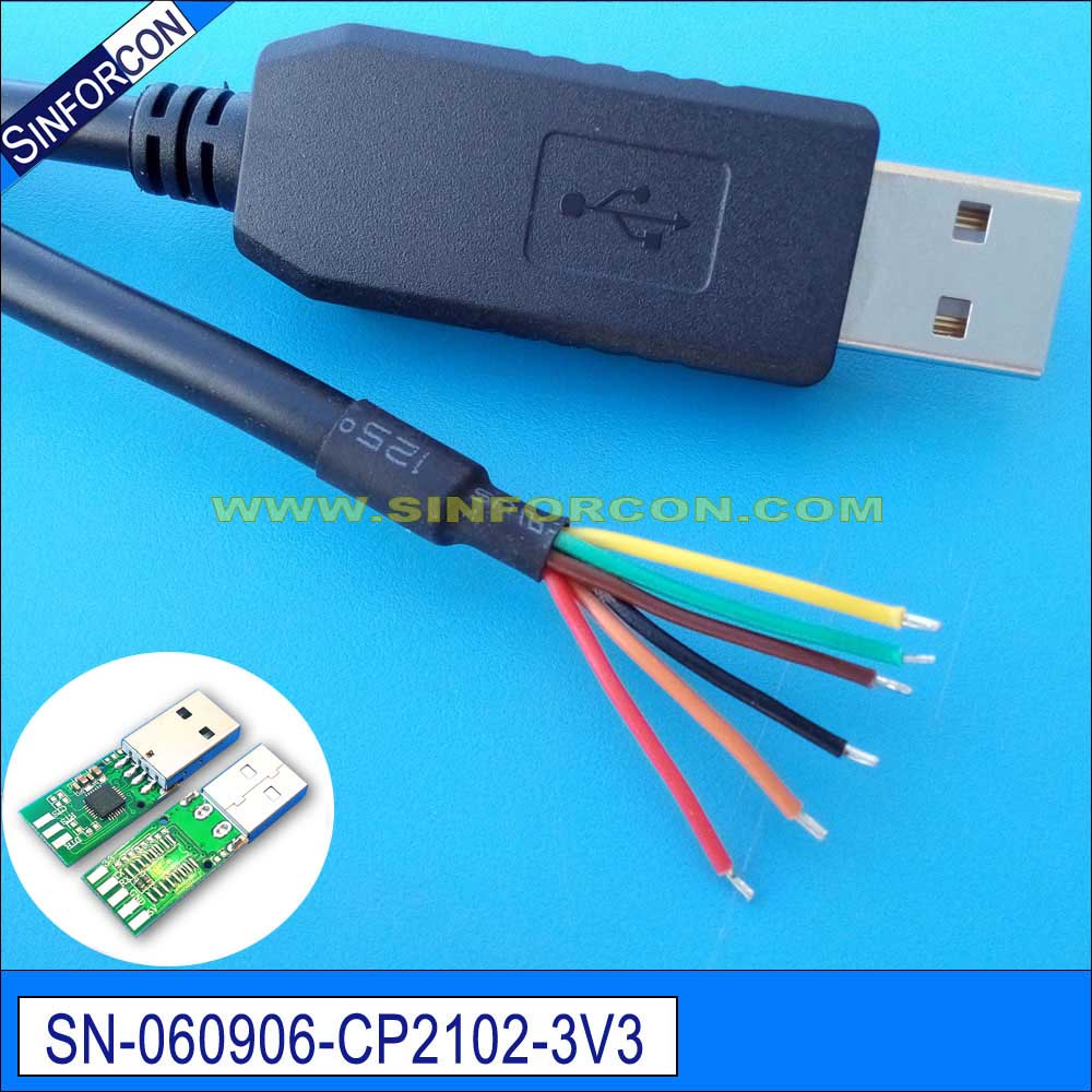 silabs cp2102 ttl 3.3v level usb uart ttl adapter cable-in Computer ...