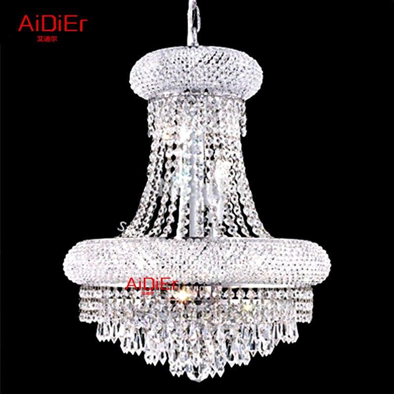 European-style Luxury Crystal Lamp Crystal Pendant Lights Living Room LED Lights Upscale Atmosphere Luxury Lamp