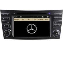7 inch Original interface Capacitive touchscreen 2 Din Car DVD Player For Mercedes Benz E CLS CLK Class W211 W219 GPS Navigation