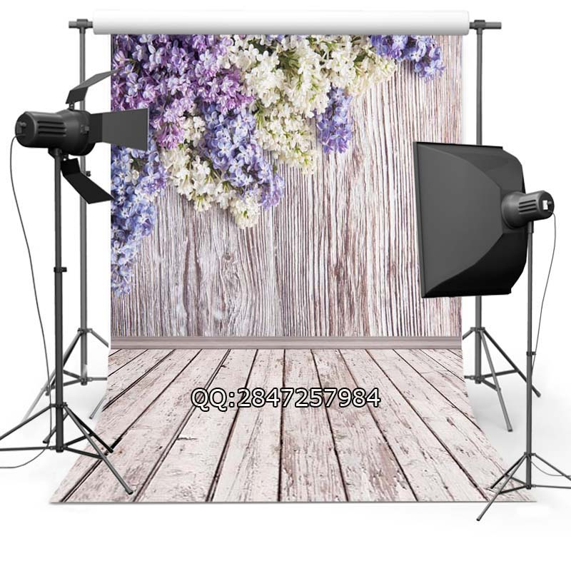 home decoration Thin Vinyl photography background Customize spring flowers Backdrop Digital Printing Background for photo Studio