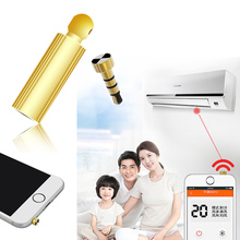CHUNGHOP 3.5mm Wireless IR Infrared Remote Control TV STB Air Conditioner For iPhone 7 6
