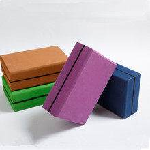 1PC TPE Yoga Block Foam Brick Indoor Yoga Blocks Stretching Aid Gym Pilates Body Shaping Health Fitness Exercise Sport Blocks цена 2017