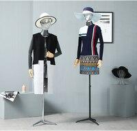 Окно Дисплей реквизит половина Средства ухода за кожей женский манекен с гальваническим манекен головы одежда Дисплей человека Средства у