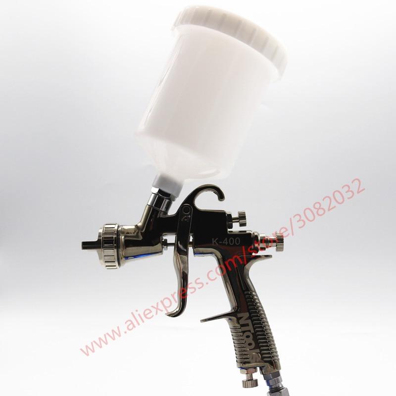 LVLP Spray Gun R500 K 400 Car Finish Painting tool 1 4mm 1 7mm Nozzle 600cc