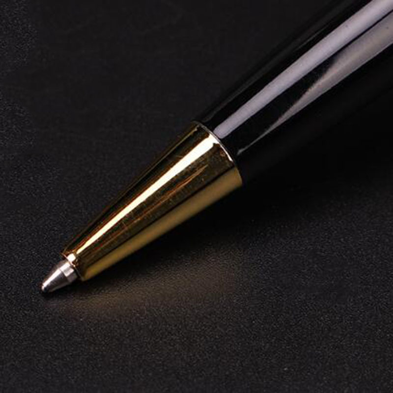 New MB 163 Black Gold And Silver Coated Classique Ballpoint Pen High Quality