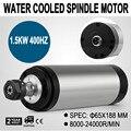 Durchmesser 65x188mm High Speed 1.5KW Wassergekühlte Spindelmotor Gravur Fräsen & Schleifen