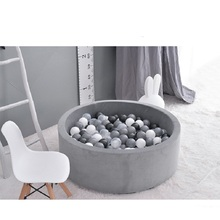 Baby Dry Ball Pool Ocean Ball Playpen Toys For Children Baby Playgournd Ball Pit For Kids Without Ball Birthday Christmas Gift portable baby playpen indoor pop up playtent ball pool fencing for children kids playpen pool for ocean balls christmas gift