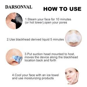Image 3 - DARSONVAL 여드름 제거제 도구 여드름 모공 청소기 얼굴 관리 아름다움 여드름 진공 청소기 검은 점 여드름 리무버 도구