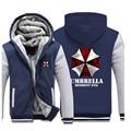 Resident Evil 6 Umbrella Hoodies Men Winter Coat Zipper Fleece Sweatshirt Unisex Casual Biohazard Jacket Fashion Clothes
