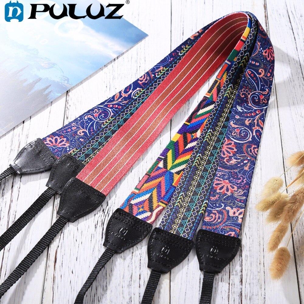 PULUZ Retro Ethnic Style Multi-color Series Shoulder Neck Strap Camera Strap Belt for Sony ,Canon ,SLR / DSLR Cameras