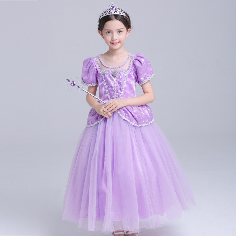 Halloween Wear Cinderella Princess Dress for Girl Sleeping Beauty Christmas Costume Girls Clothes Fancy Teenage Party Dresses princess girl elsa dress sleeping beauty halloween costume for kids children clothing girl aurora fancy dress ball party wear