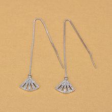 Aaa серьги в форме бриллианта