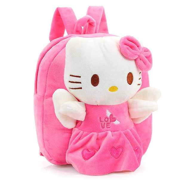 d09d78e889e9 Wholesale and Retail Hello Kitty Toddler Kids Children Boy Girl Cartoon  Backpack Schoolbag Shoulder Bag Plush