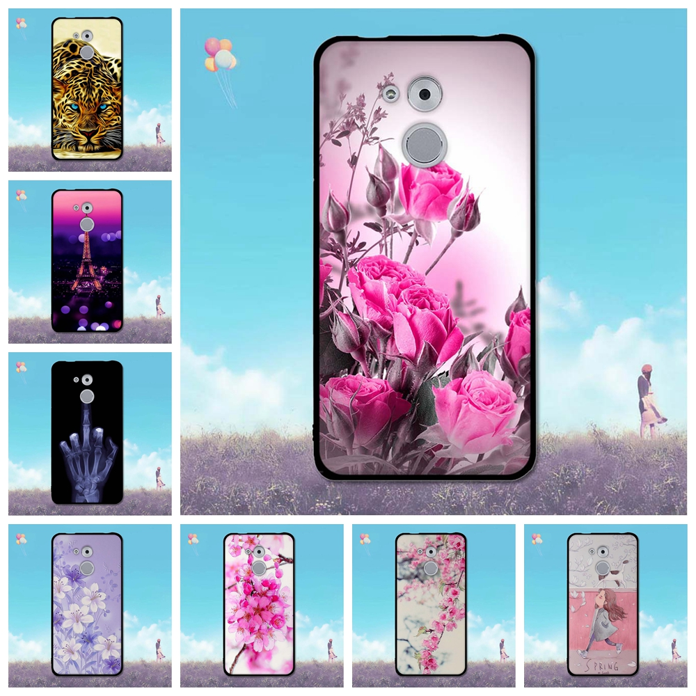For Huawei Enjoy 6S Honor 6C Nova Smart Case Enjoy 6s Phone Shell Honor 6c Skin Back Cover for Huawei Nova Smart Fashion TPU Bag